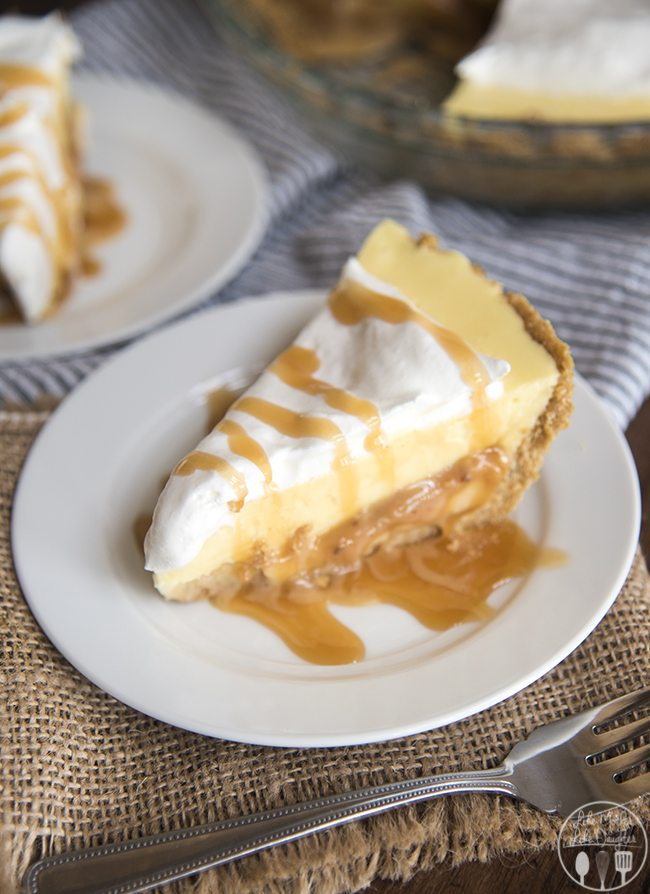 caramel banana cream pie 8