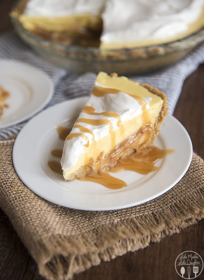 caramel banana cream pie 9
