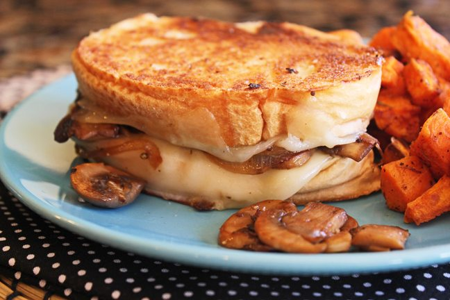 Mushroom-Lovers-Grilled-Cheese-from-Jamie-Cooks-It-Up