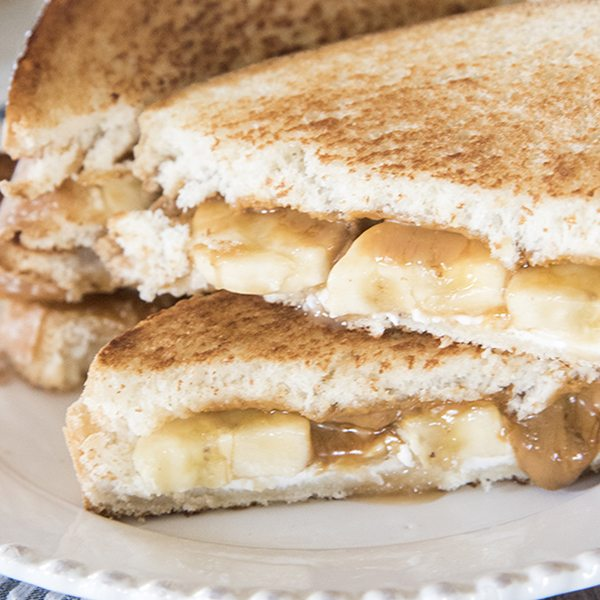 bananas foster grilled cheese 3square