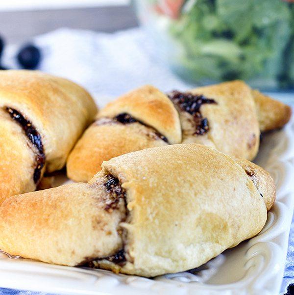 Fig Almond Croissants