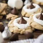 Hershey Kiss S'mores Cookies