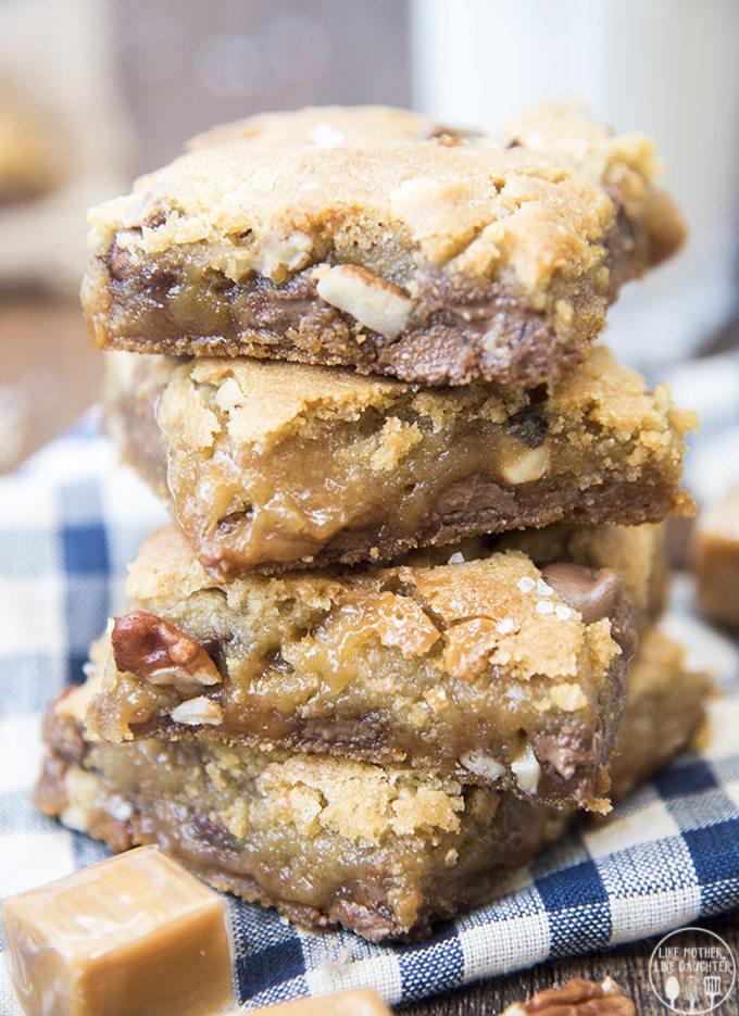 turtle cookie bars 9