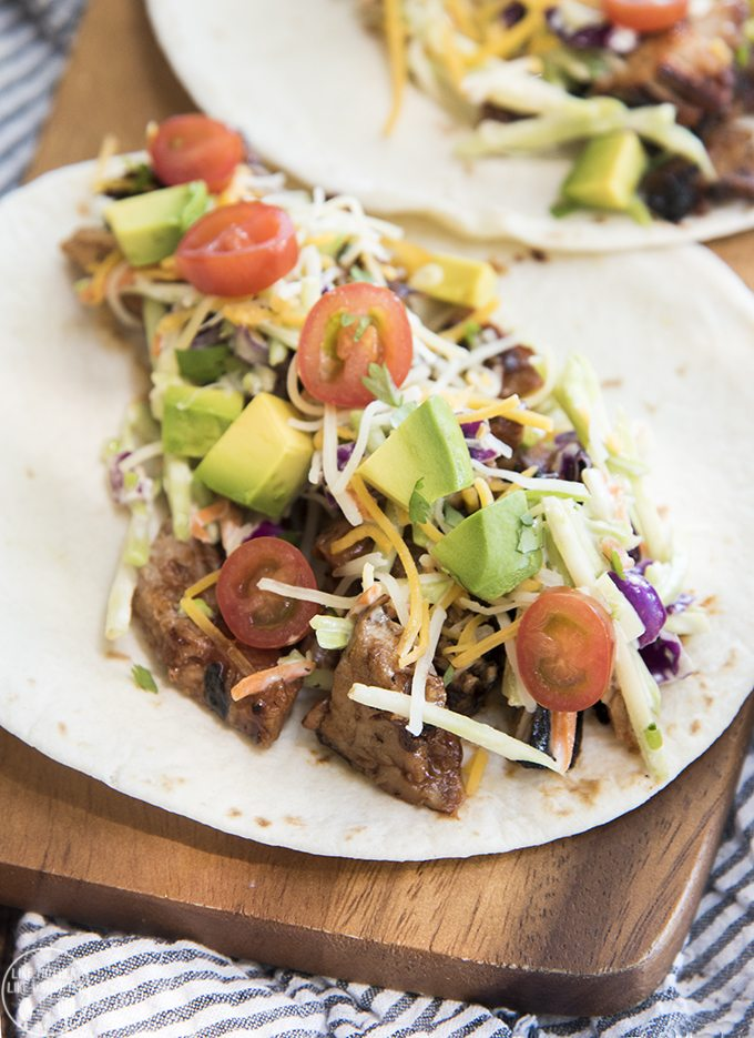 Pork Tenderloin Tacos With Tangy Slaw Recipe — Dishmaps