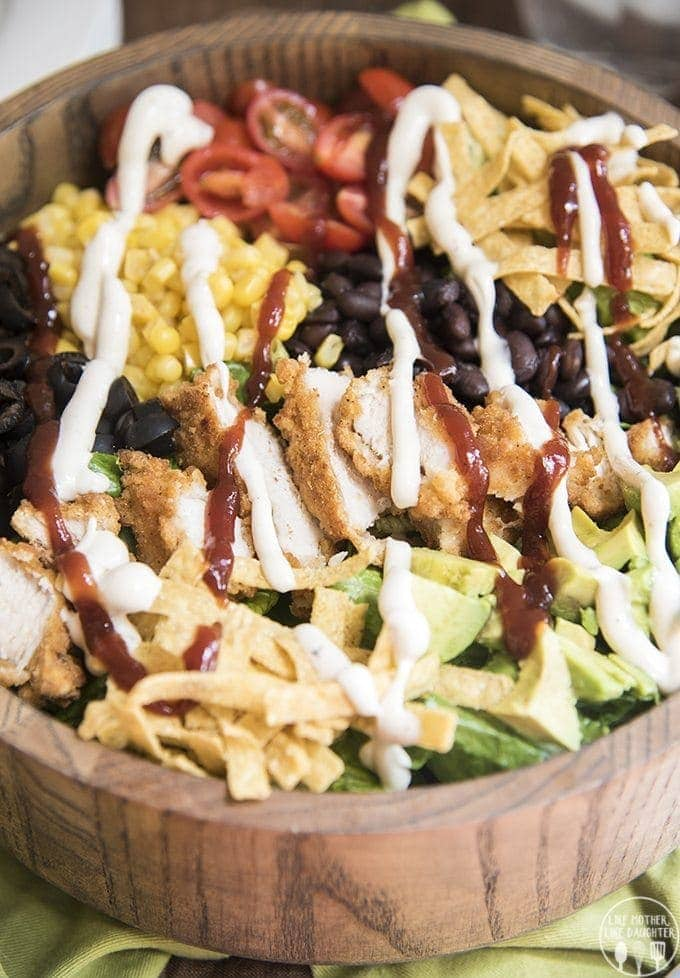 Bbq Ranch Chicken Salad Like Mother Like Daughter