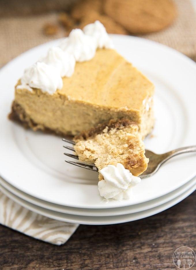 Pumpkin Cheesecake – Like Mother, Like Daughter