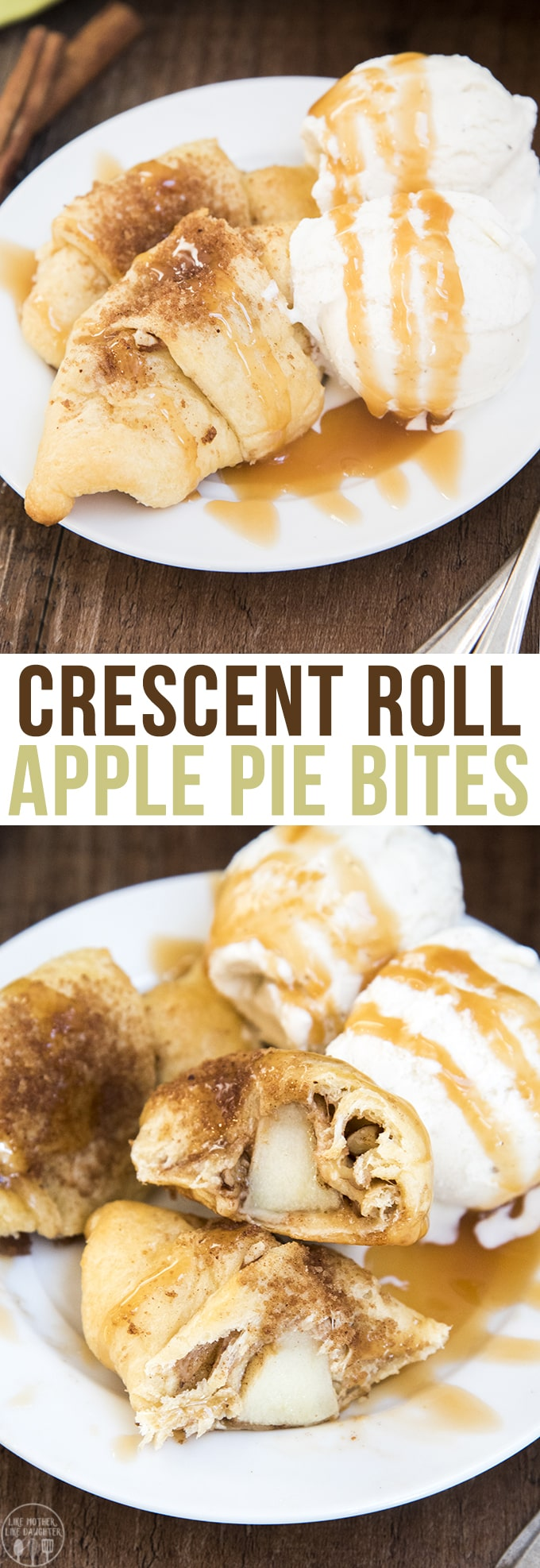 Apple Pie Bites - These crescent roll apple pie bites are so much easier than apple pie with the same great flavors.These tasty apple pie bites are made with Pillsbury Crescent Rolls and ready in less than 30 minutes!