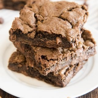 Double Chocolate Caramel Cookie Bars