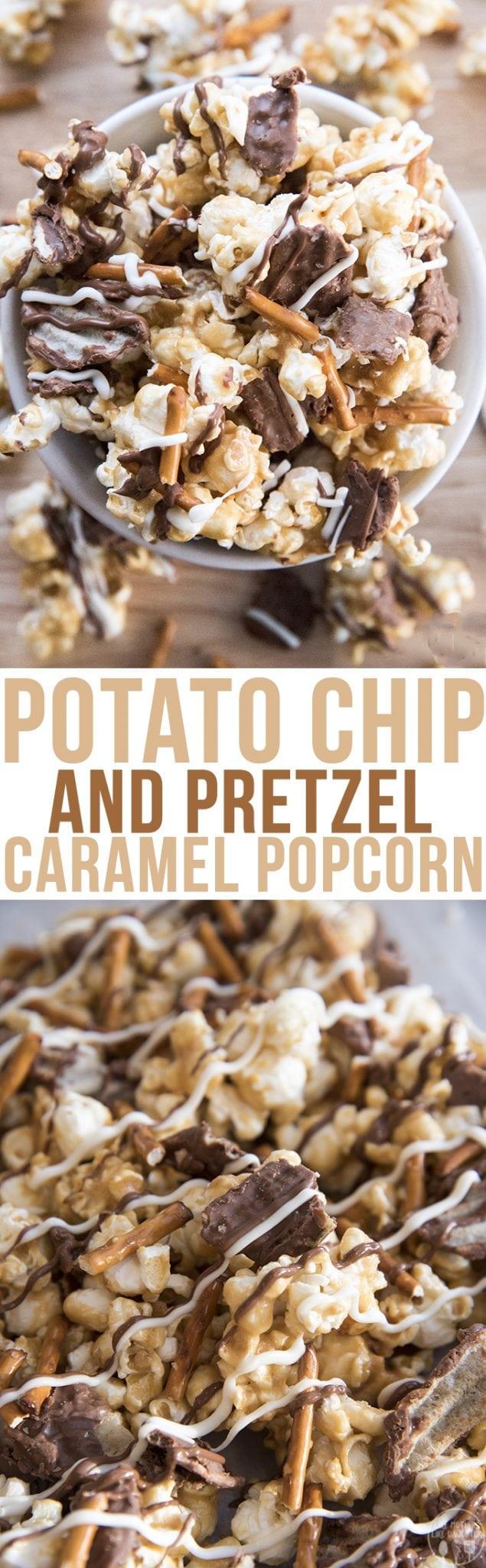 Potato Chip Caramel Popcorn – Like Mother, Like Daughter