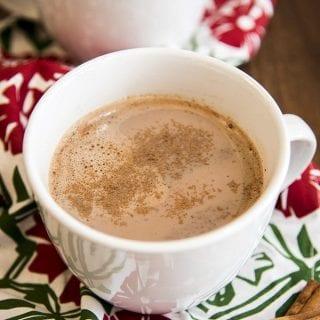 Skinny Pumpkin Hot Chocolate