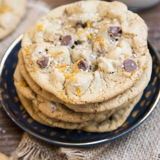 Orange Zest Chocolate Chip Cookies