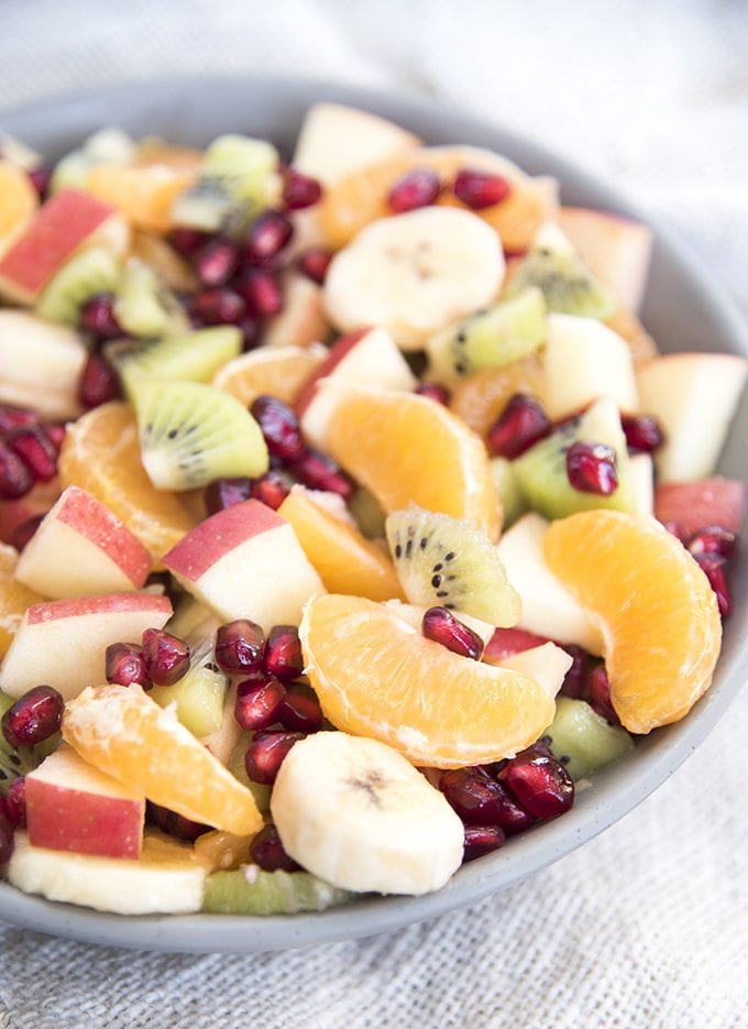 Winter Fruit Salad - This simple fruit salad is loaded full of winter ...