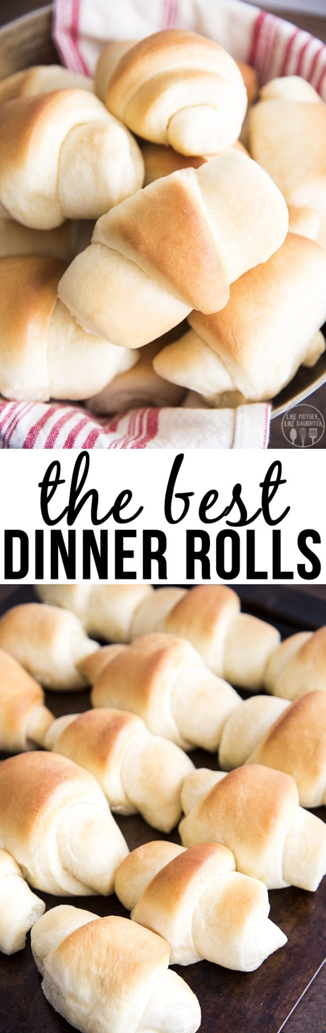 These homemade dinner rolls are the best ever! They are soft and fluffy, and your whole family will love them!