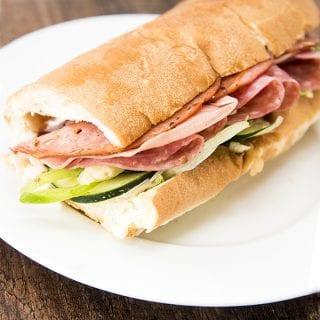 Subway Italian Hero Sandwich