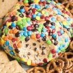 Monster Cookie Dough Dip (Cheeseball)