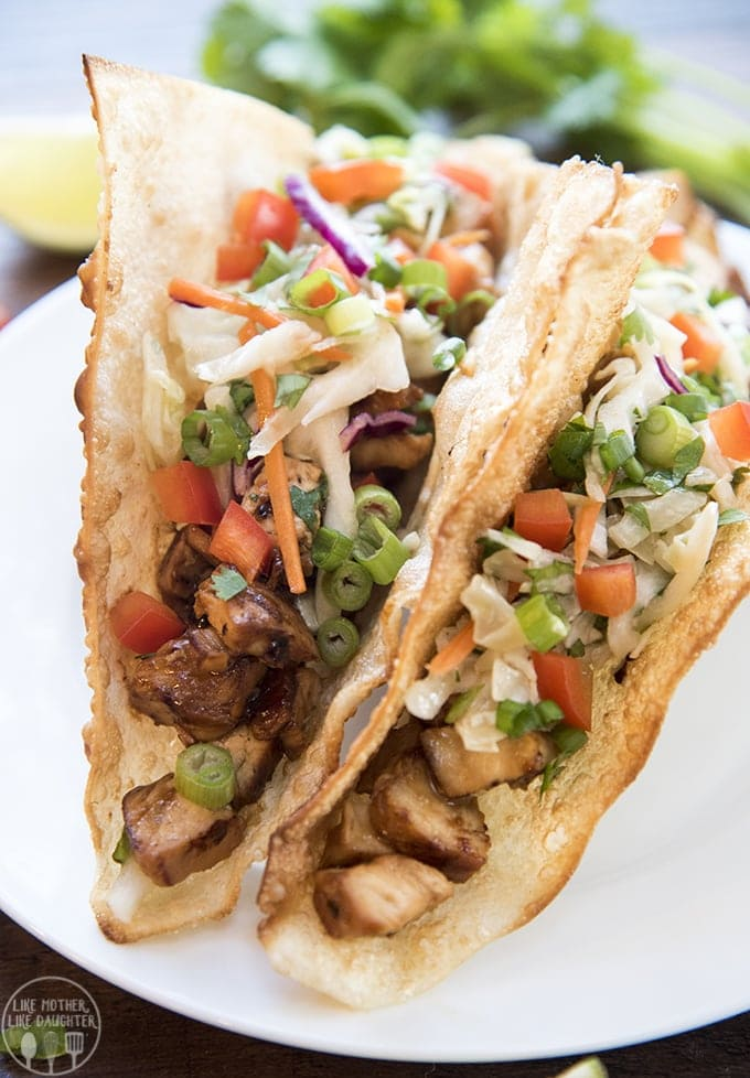 Teriyaki chicken tacos like mother like daughter i love taking 2 different cultures of foods and combining them into something so tasty and delicious mexican food meets italian food with a mexican forumfinder Image collections
