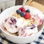 Berry Cheesecake Ice Cream