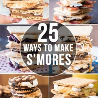 25 Ways to Make S'mores