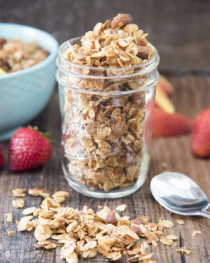 Coconut Almond Granola – Like Mother, Like Daughter