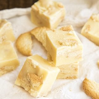 Lemon Cookie Fudge