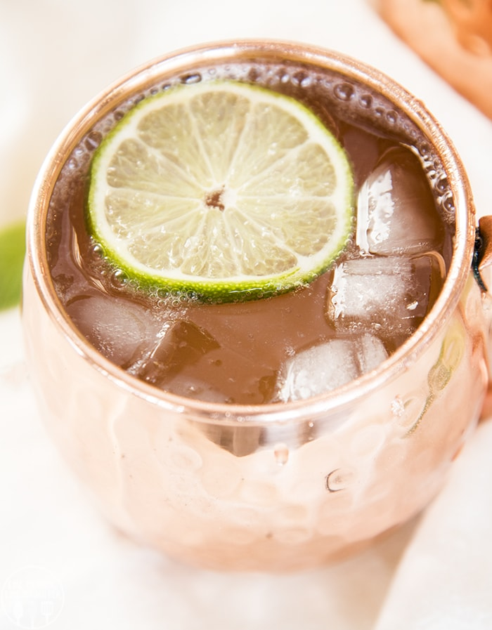 The perfect of all mocktails, this Moscow Mule is a spicy and refreshing drink, perfect for a hot summer night or a winter holiday party!