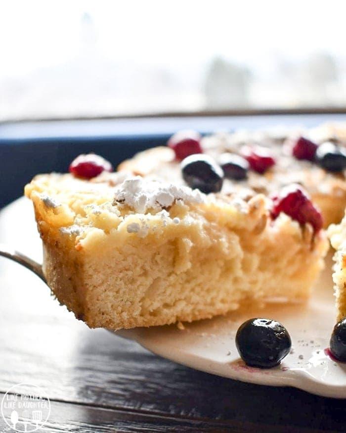 Raspberry Ricotta Cake Gluten Free
