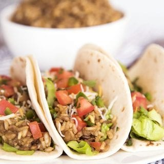10 Comfort Foods Made with Lentils + Lentil and Brown Rice Tacos