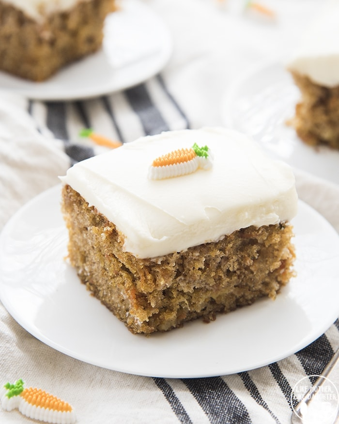 Easy Carrot Cake In A 9x13 Pan Like Mother Like Daughter