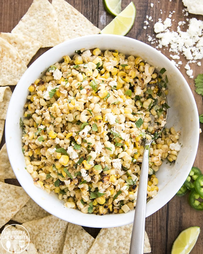 Mexican Corn Dip tastes like Mexican Street Corn, but in dip form.