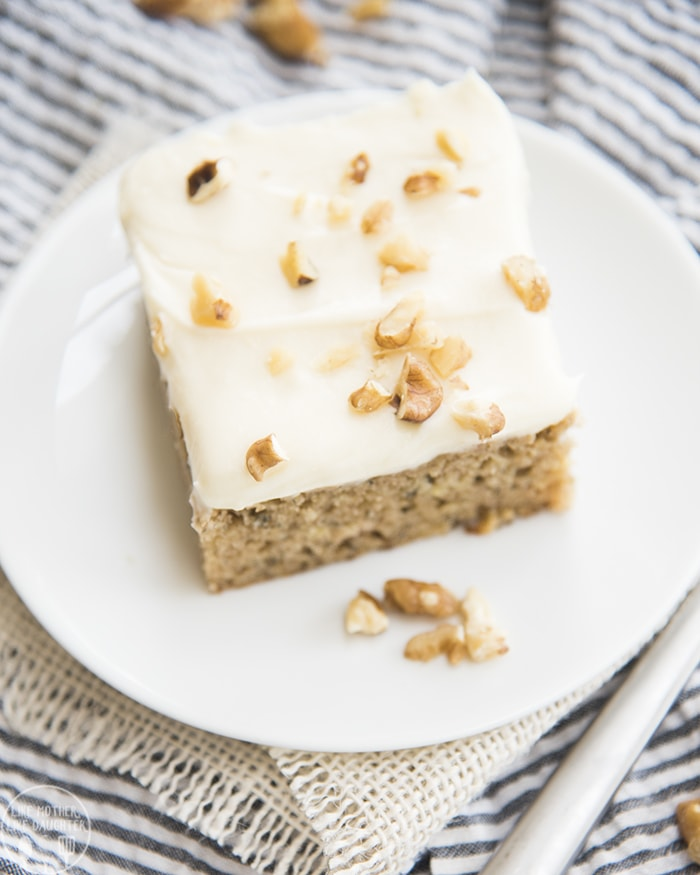 Banana Cake is perfect for an easy dessert