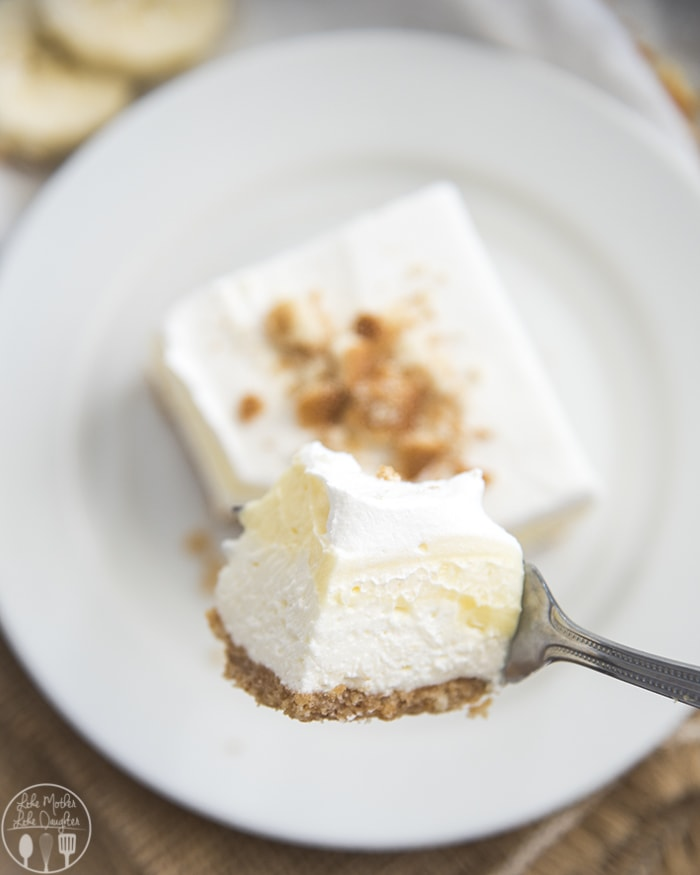 Banana Pie Bars