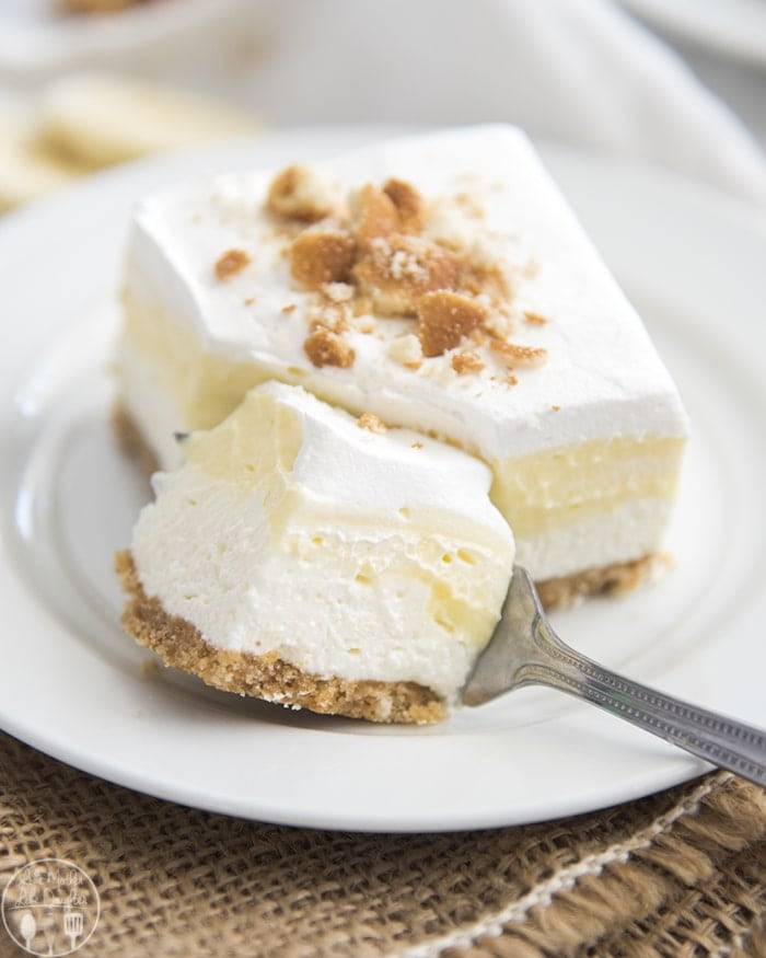 Triple Layer Banana Cream Pie Bars