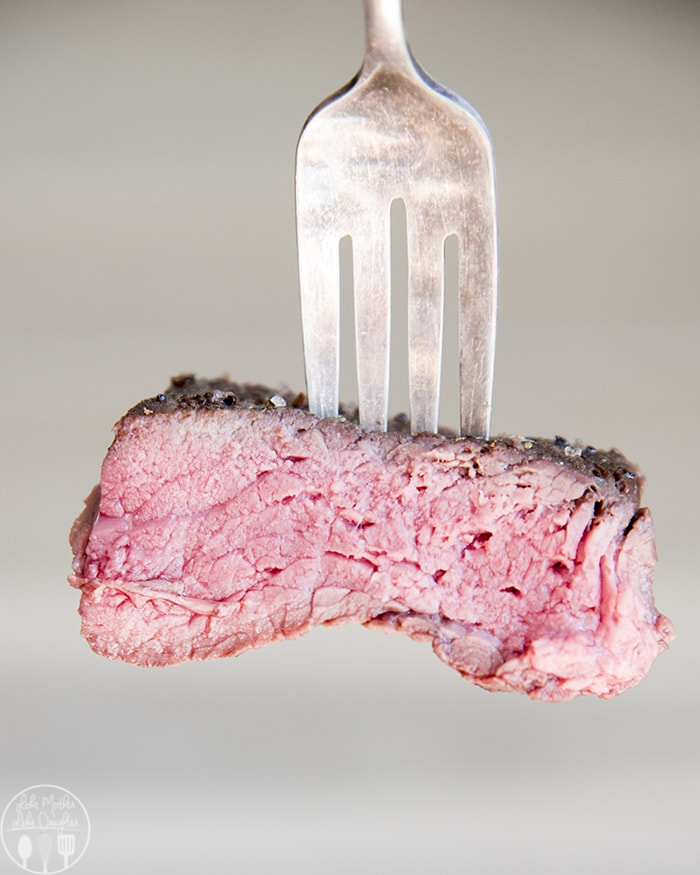 Sous Vide Steak is a perfect way to get steak that is tender and packed full of flavor, cooked exactly how you like it.