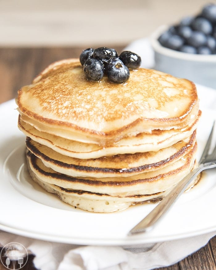 Ricotta pancakes are perfectly light, moist, and fluffy, and so smooth they melt in your mouth.
