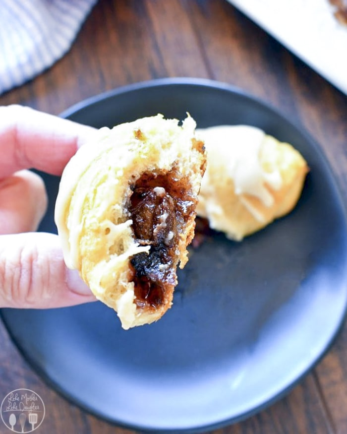 Apple Poe Crescent Rolls