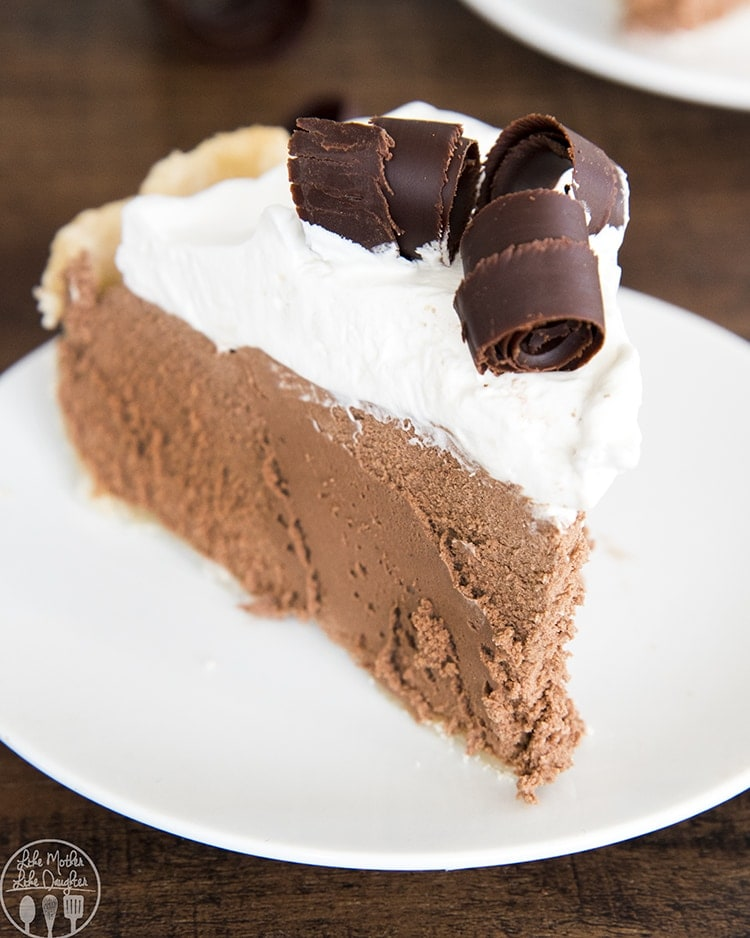 This French Silk Pie is the most creamy and smooth chocolate pie you'll ever have, with a traditional pie crust, and a chocolate mousse filling, this pie is the ultimate pie for chocolate lovers.